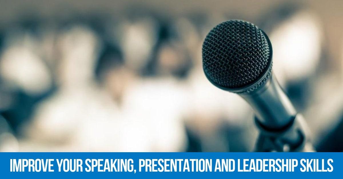 Improve Your Speaking, Presentation and Leadership Skills | Professional Speaker Certification